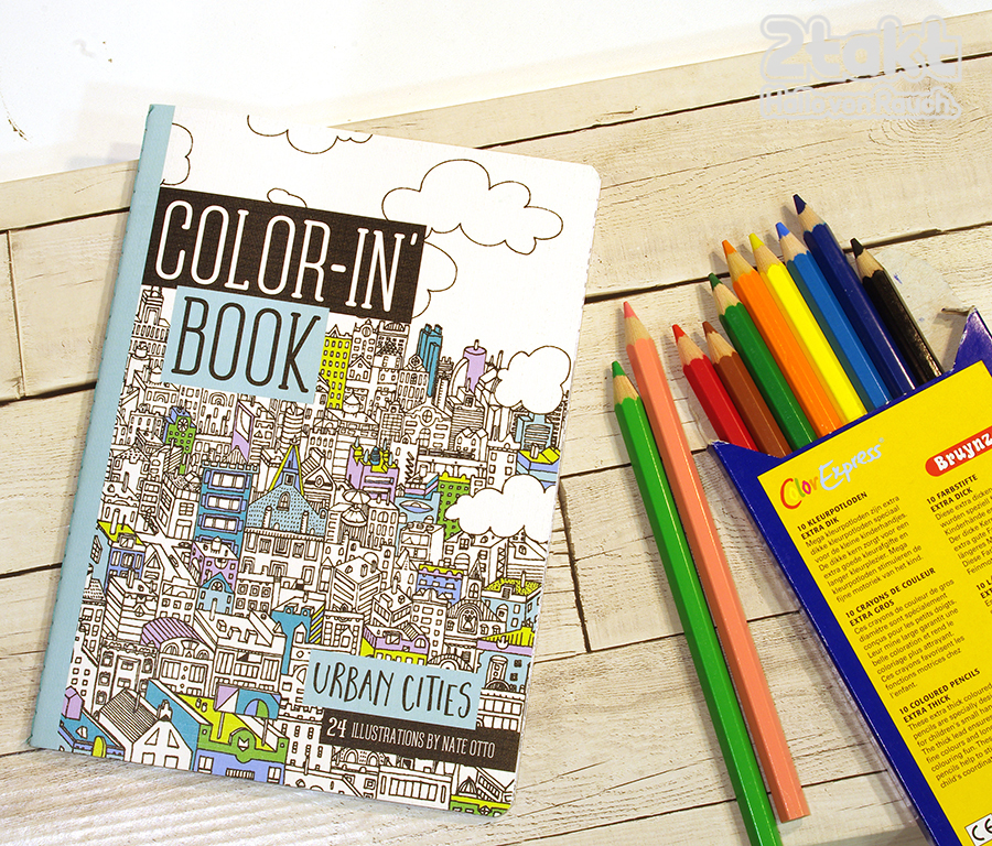 COLOR-IN' BOOK/Urban Cities