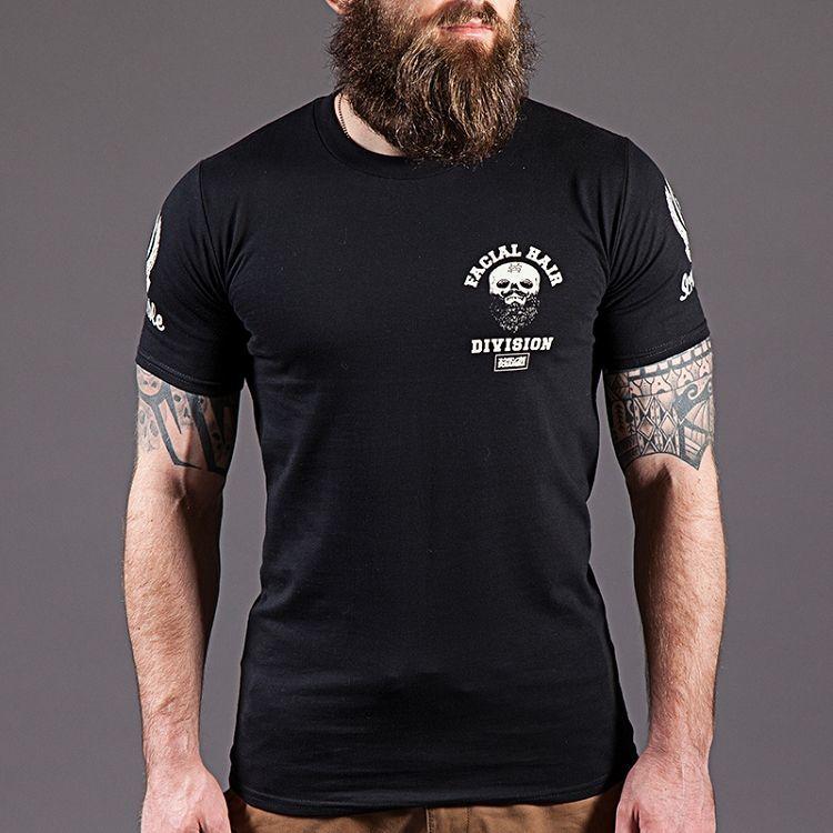 SCRAMBLE 'STRONG BEARD' TEE|格闘技 柔術Tシャツ