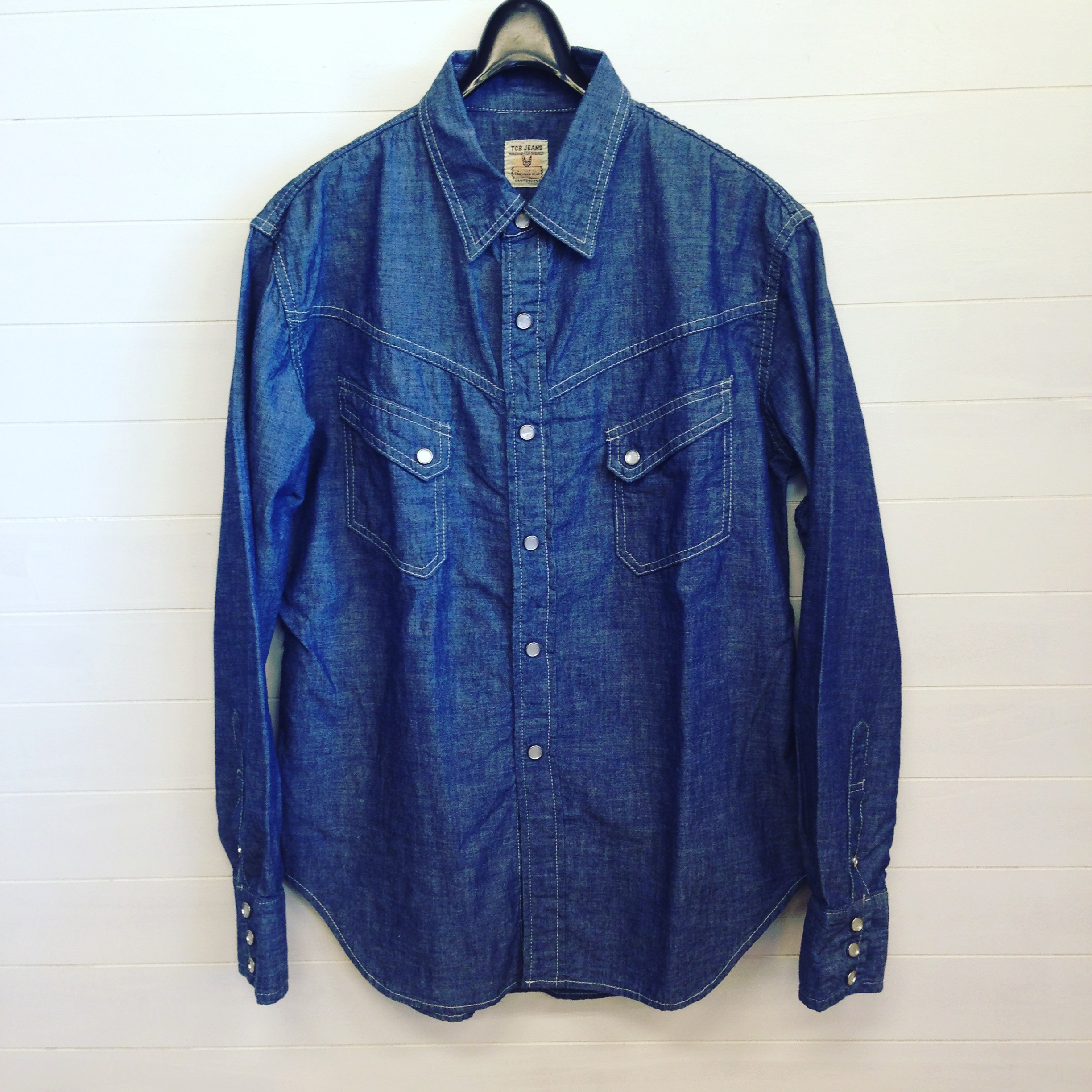 TCB(ティーシービー) RANCHMAN  SHIRT  CHAMBRAY