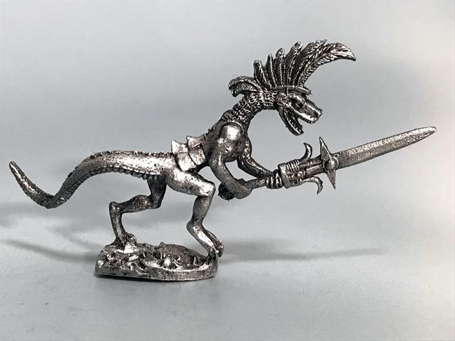 リザードマンの遊撃兵(3体) - 画像2