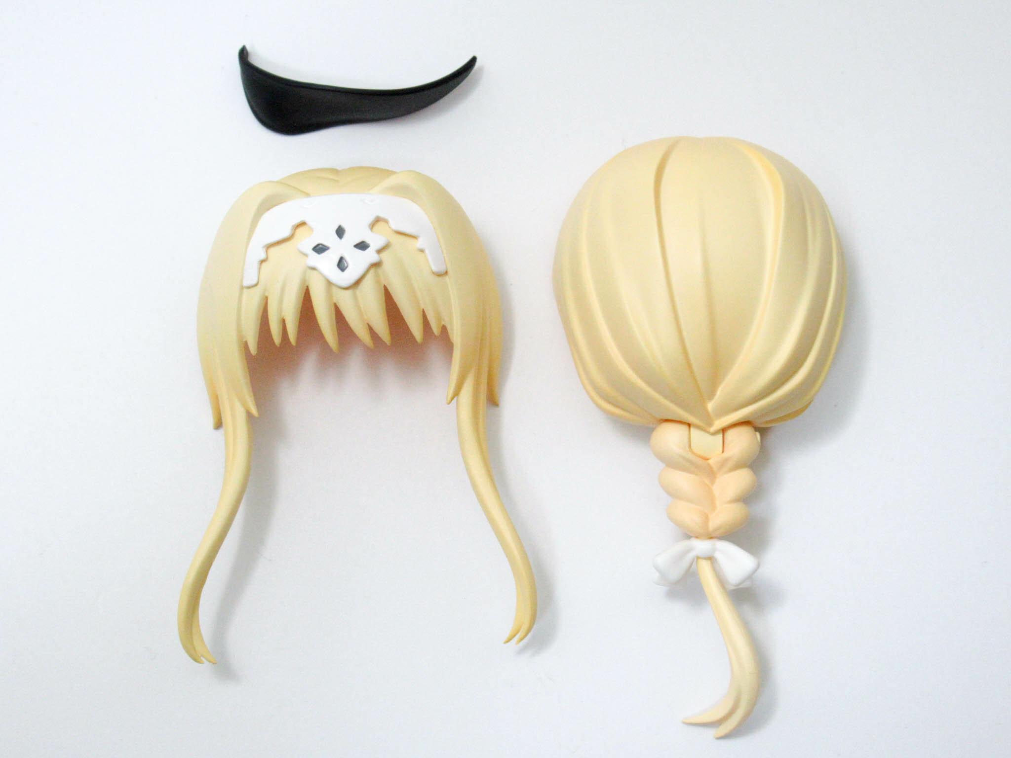 【1105】 アリス・シンセシス・サーティ 髪パーツ ポニーテール ねんどろいど