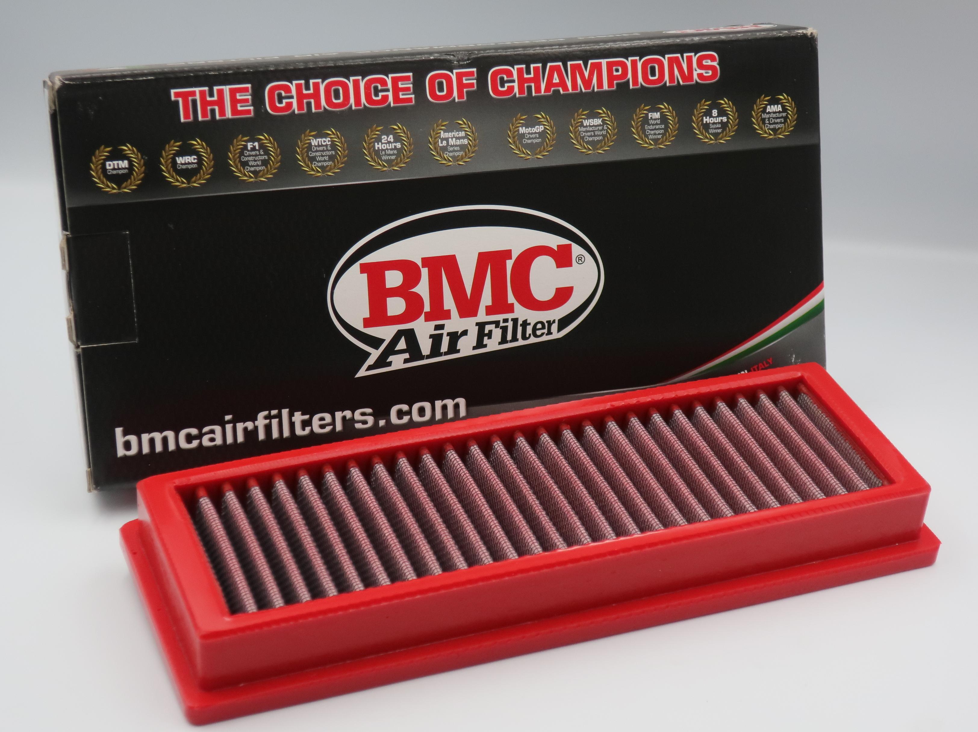 BMCエアフィルター(FB455/01)フィアット500、プント、ランチアY、MUSA、純正交換タイプ