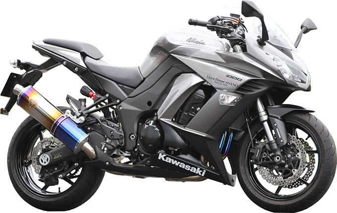 Ninja1000('11~)/Z1000('10~) ワイバン シングル クロスオーバルDB[WK26-01XD]