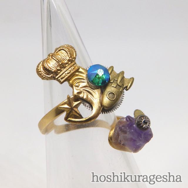 指輪 - 宇宙リング - 星海月舎 - no8-hks-06