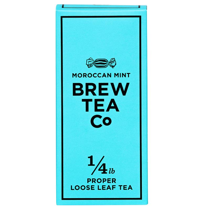 BREW TEA Co. ブリューティーカンパニー leaf tea 茶葉 113g 箱入り Moroccan Mint モロッカン ミント