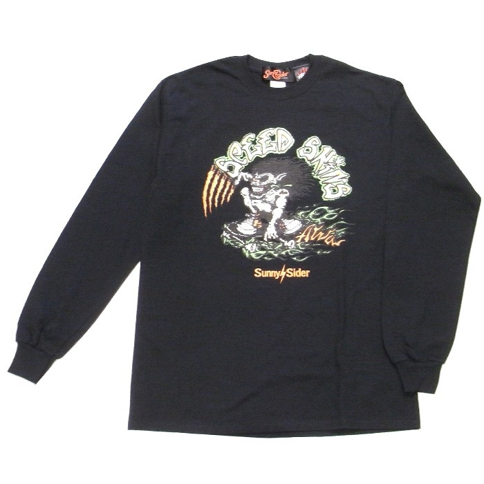 SUNNY C SIDER(サニーシーサイダー) / 18AW-SCS-ALVA-04(コラボロングスリーブTシャツ)