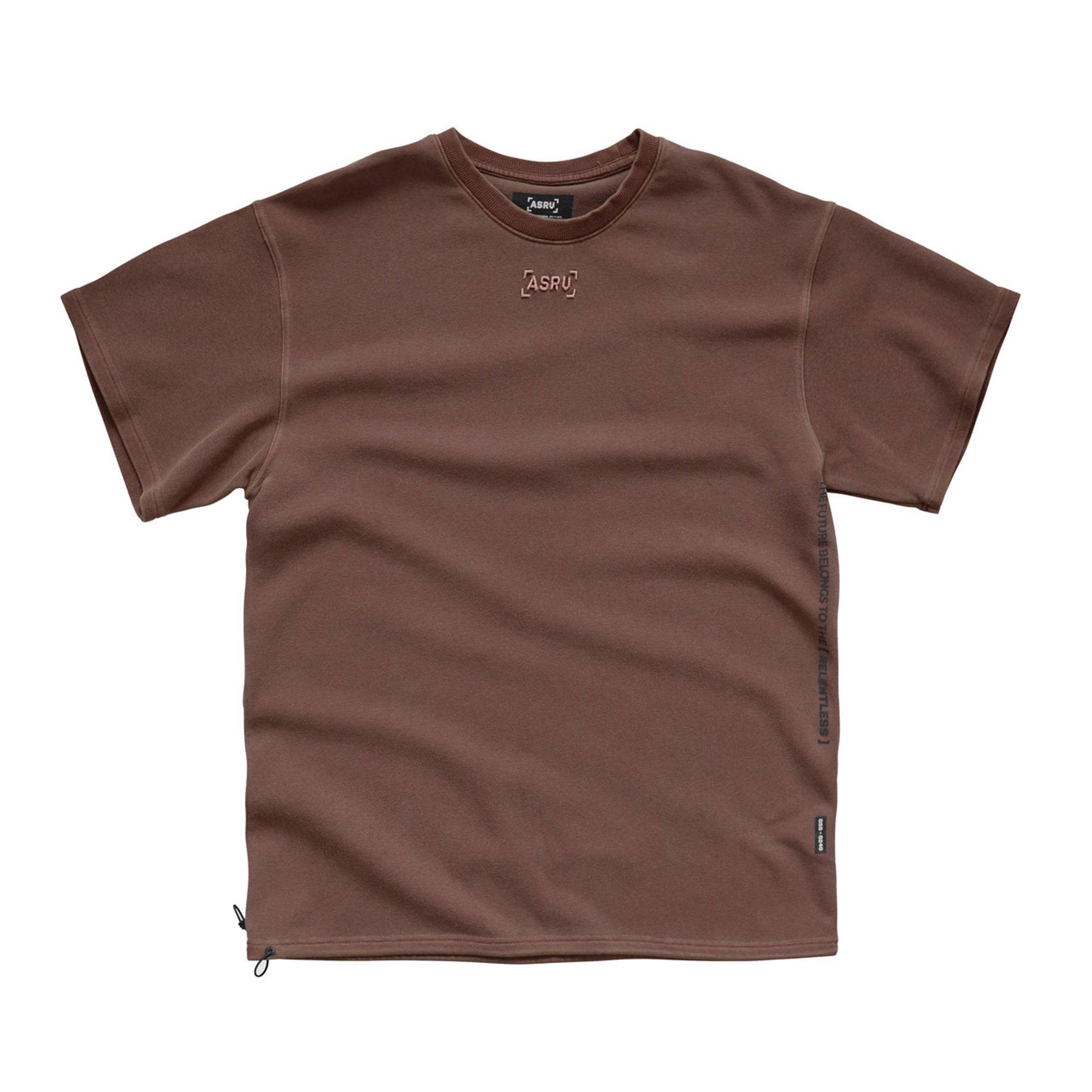 【ASRV】SilverPlus® テクニカルTシャツ - Washed Merlot