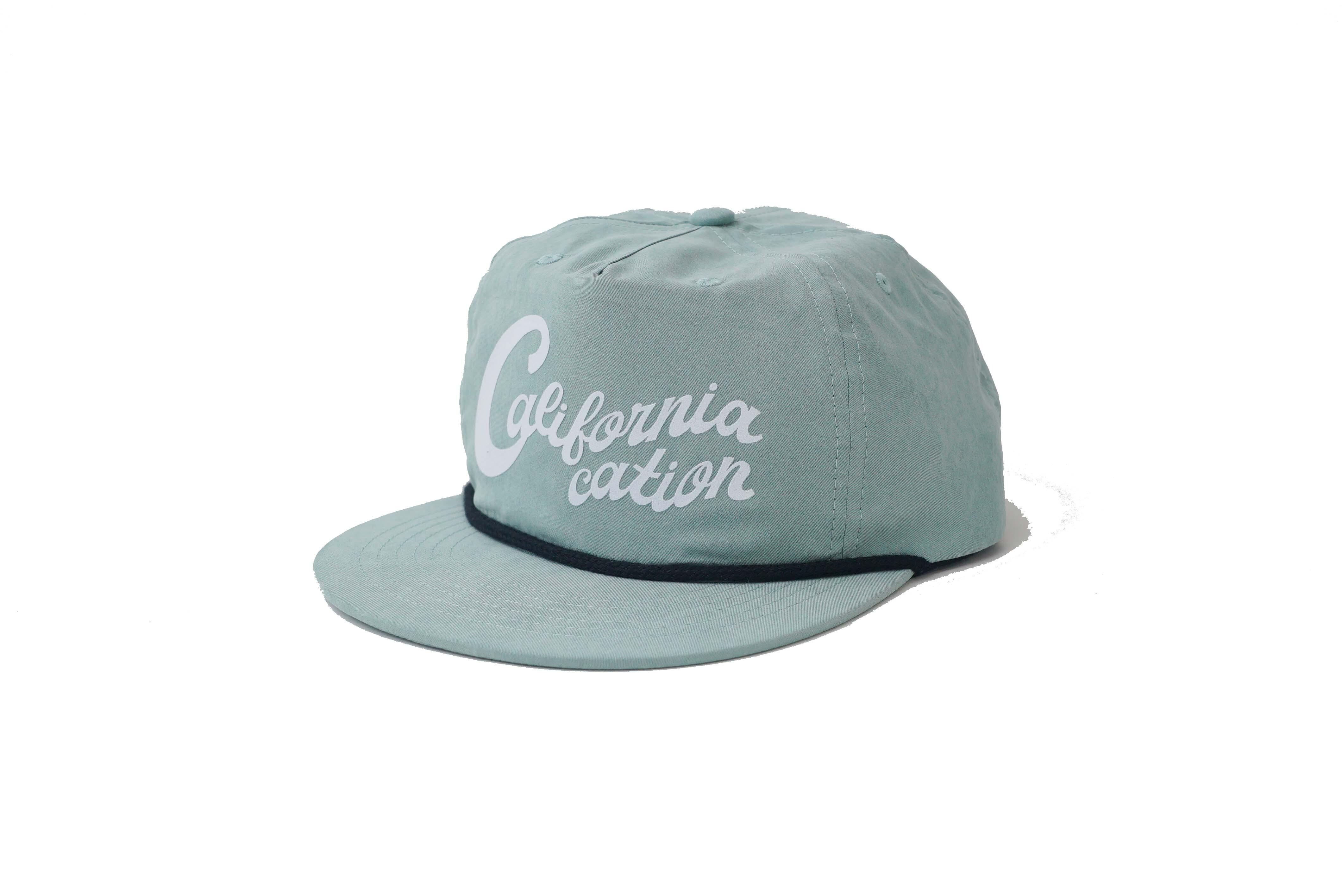 SURFSKATECAMP #Californiacation Cap Sage ¥6.300+tax