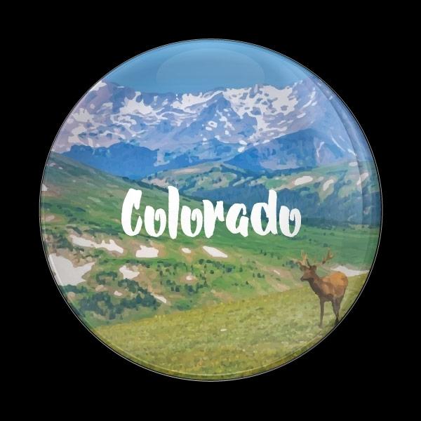 ゴーバッジ(ドーム)(CD1078 - COLORADO) - 画像1