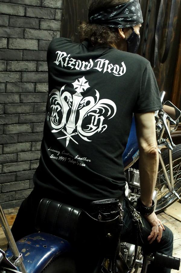 Item No.0384:RizardHead Emblem T-shirt