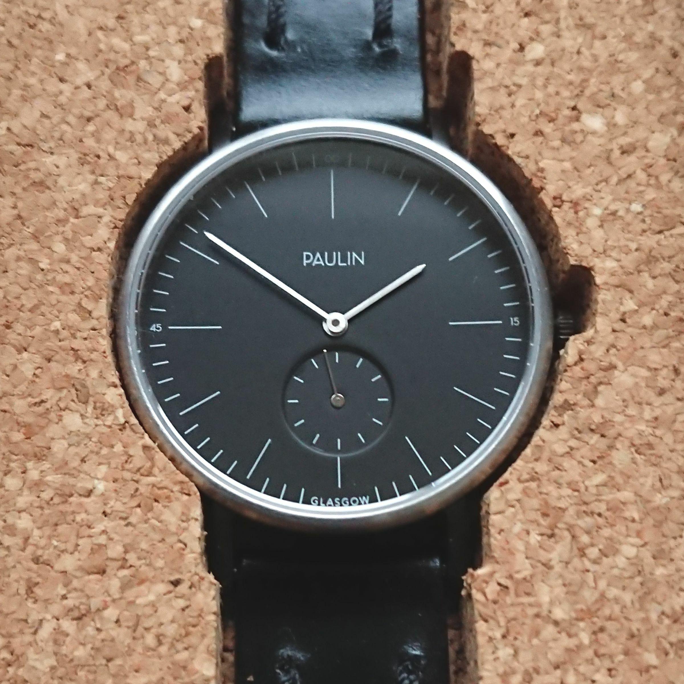 PAULIN ポーリン コミューター ブラック/シルバー TO100B-BL-B
