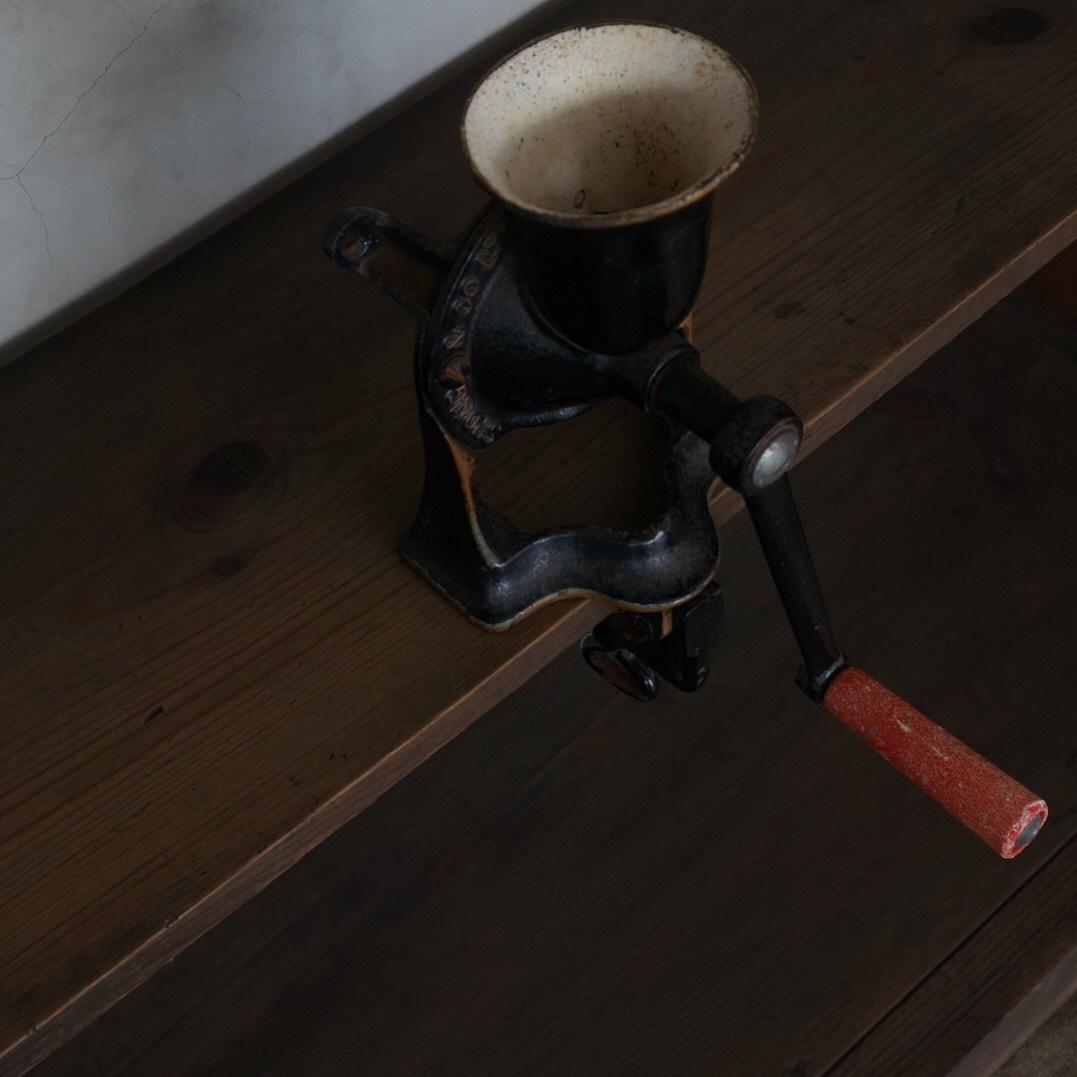 古いスポングミル(皿無)