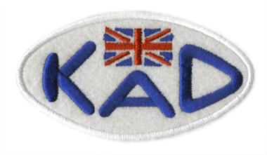 KAD・ロゴ・ワッペン