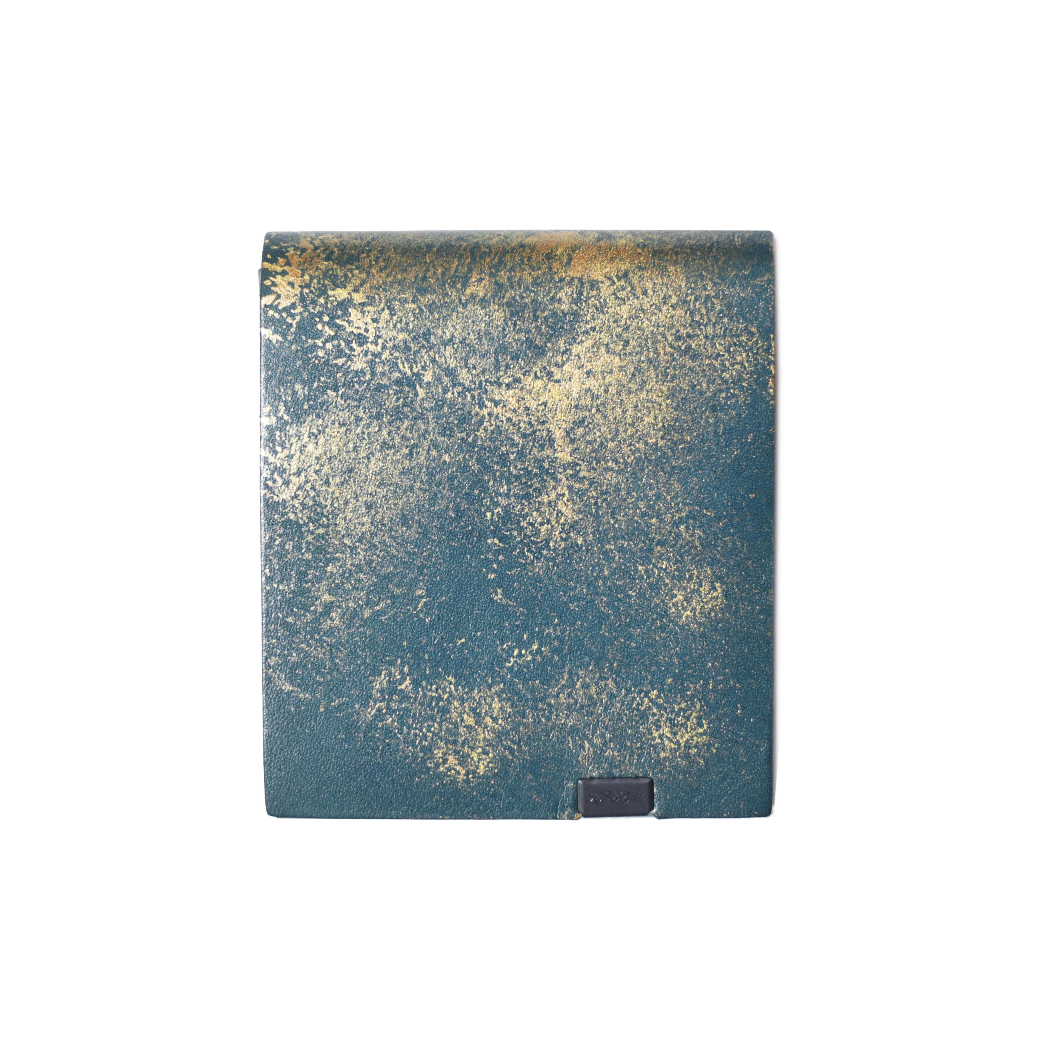 雲母 -ショートウォレット2.0- 紫苑
