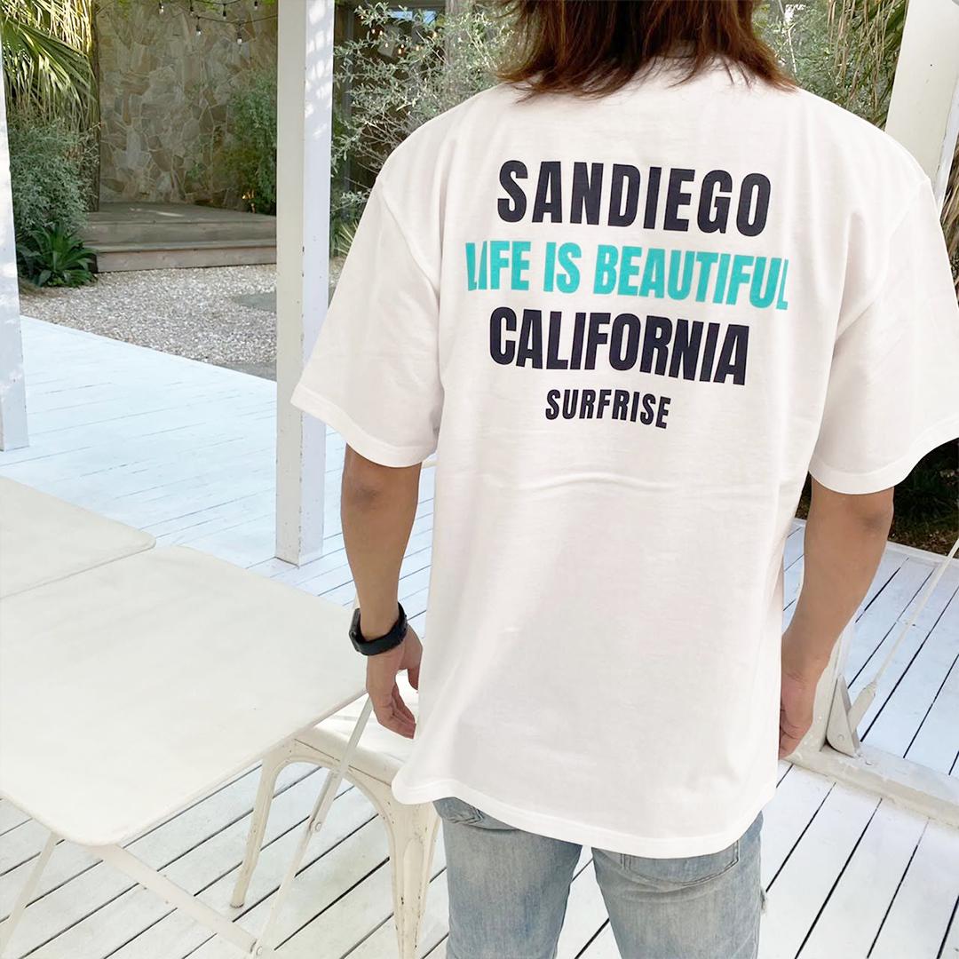 【予約:5月下旬発送】SANDIEGO Tee - White