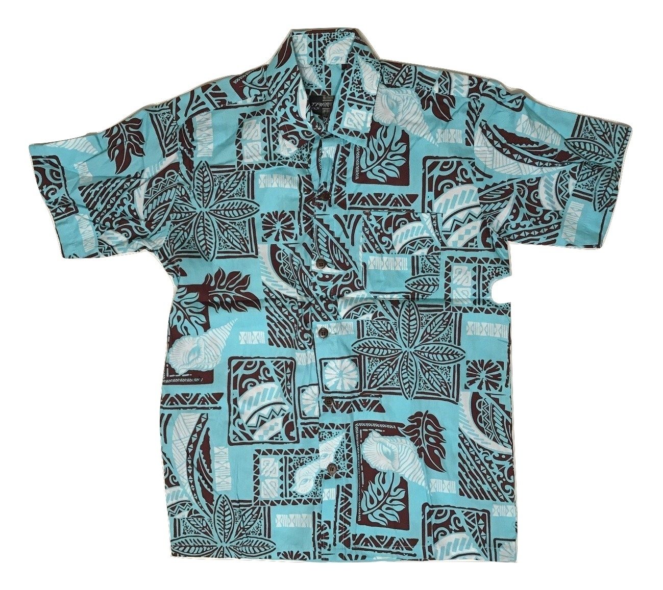 Aloha Shirt Skyblue【Kids】