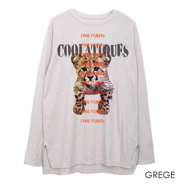 COOLA Leopard print L/S T
