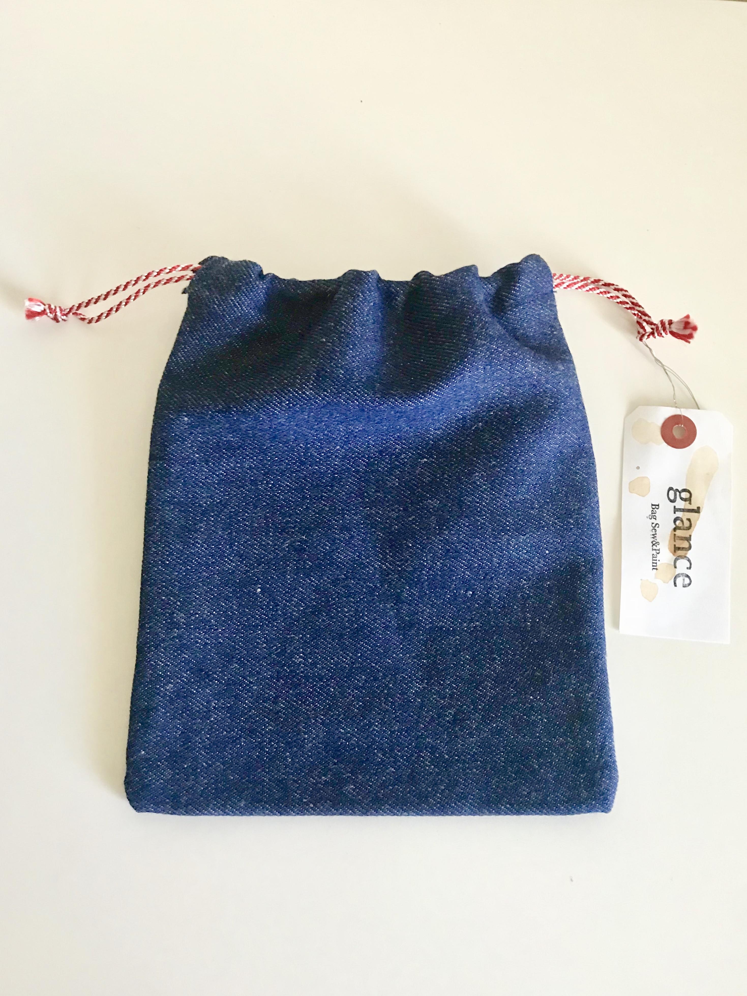 御朱印帳袋(巾着タイプ)−華車6