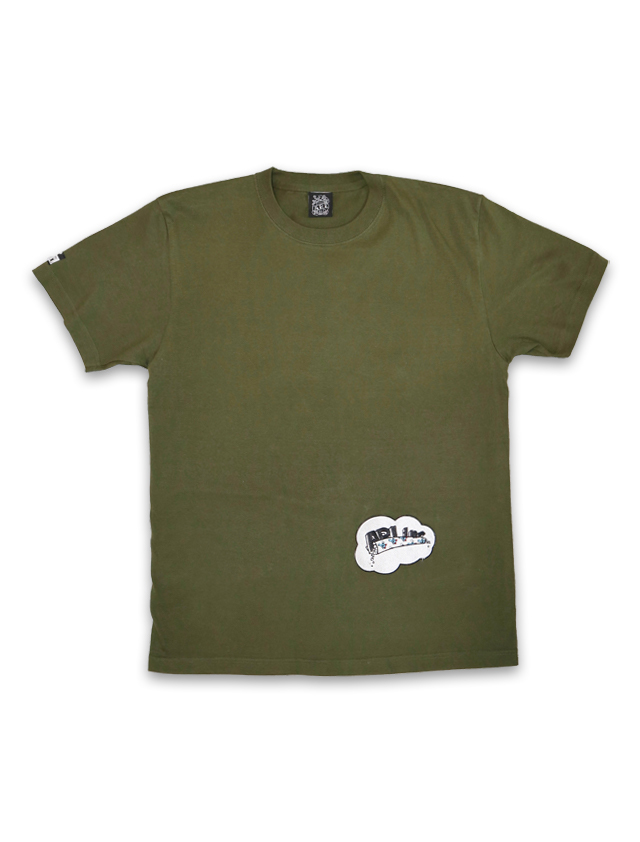 ROLLING TEE mos green