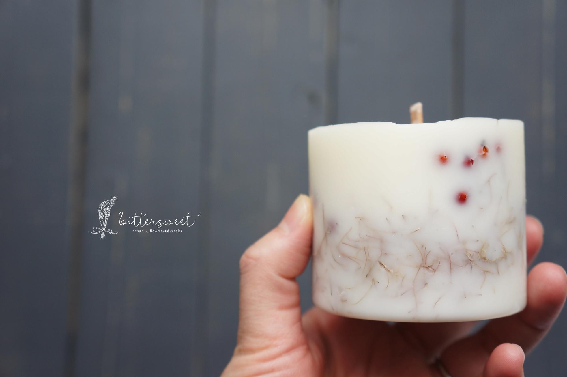 Botanical candle no.008