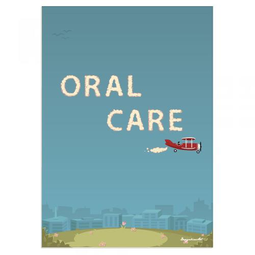 ORAL CARE B2ポスター