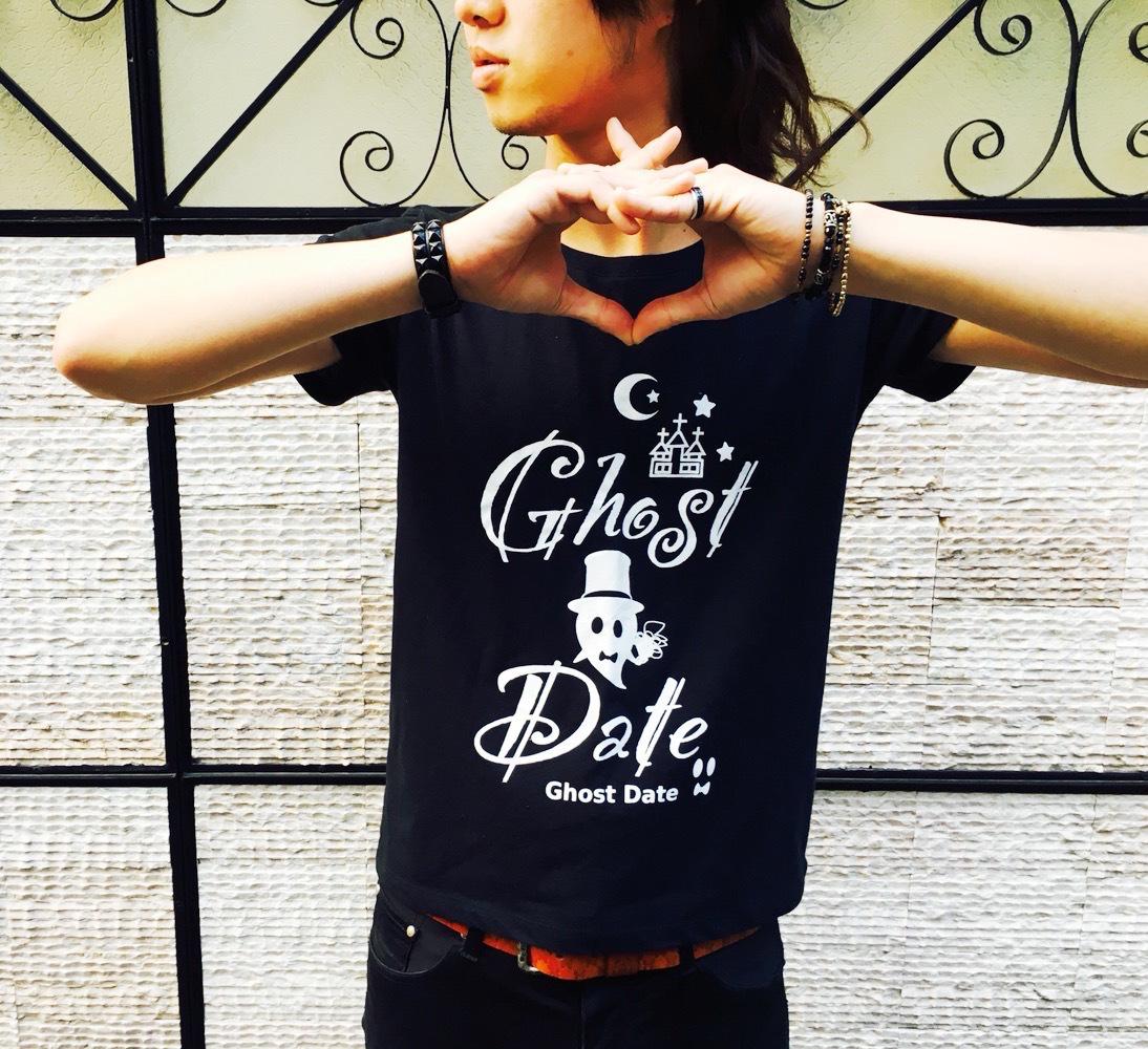 Ghost Date T-shirt/band T-shirt/ゴーストデートTシャツ/バンドTシャツ