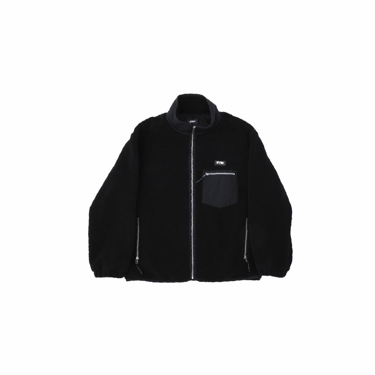 【10%OFF】Boa fleece blouson / BLACK - 画像1