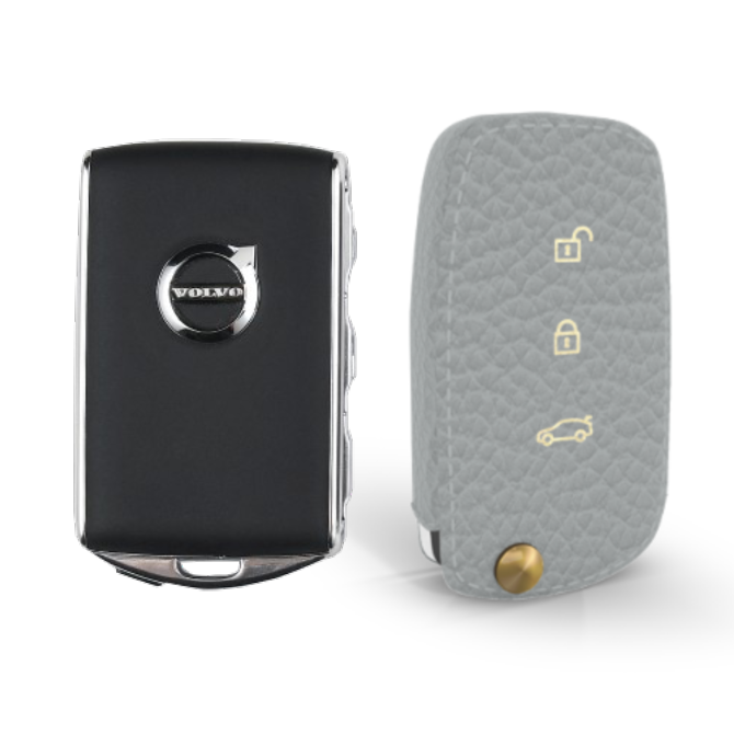 Volvo 専用 Type90 Car Key Case Shrink Leather Case