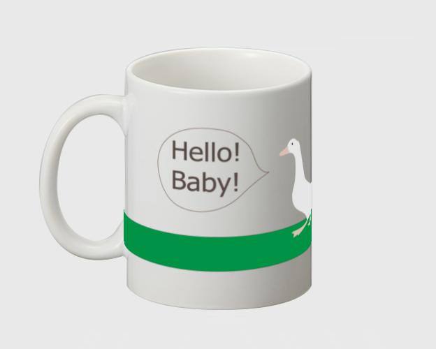 マグカップ☆DUCK&BABY