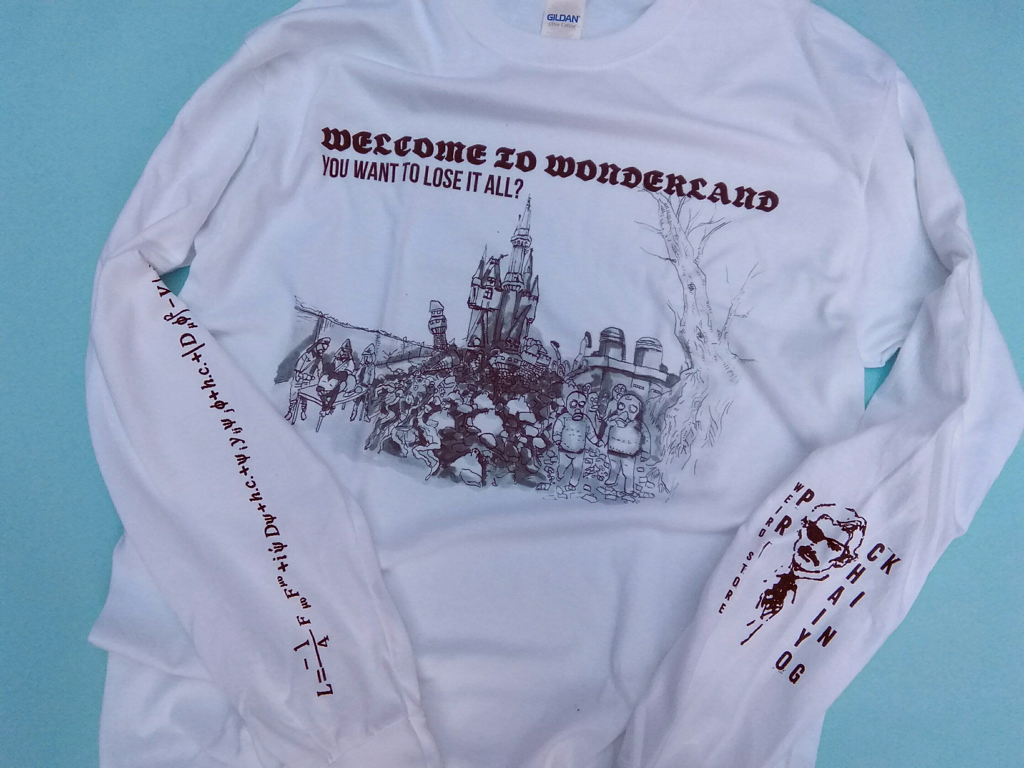 "KING CHAIYO × PRANK Weird Store ""Welcome to Wonderland"" WHITE"