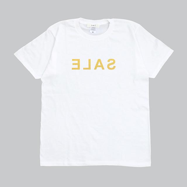 SALE Tシャツ[ゴールド]