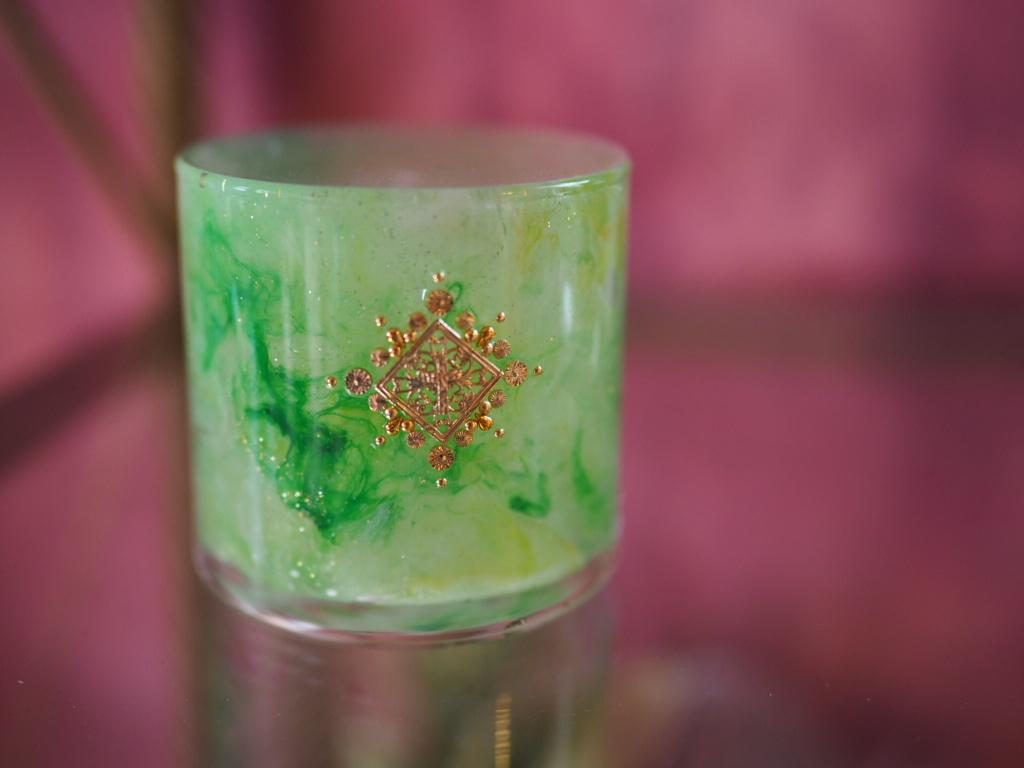 marble bijou candle