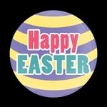 ゴーバッジ(ドーム)(CD0920 - Seasonal HAPPY EASTER) - 画像1
