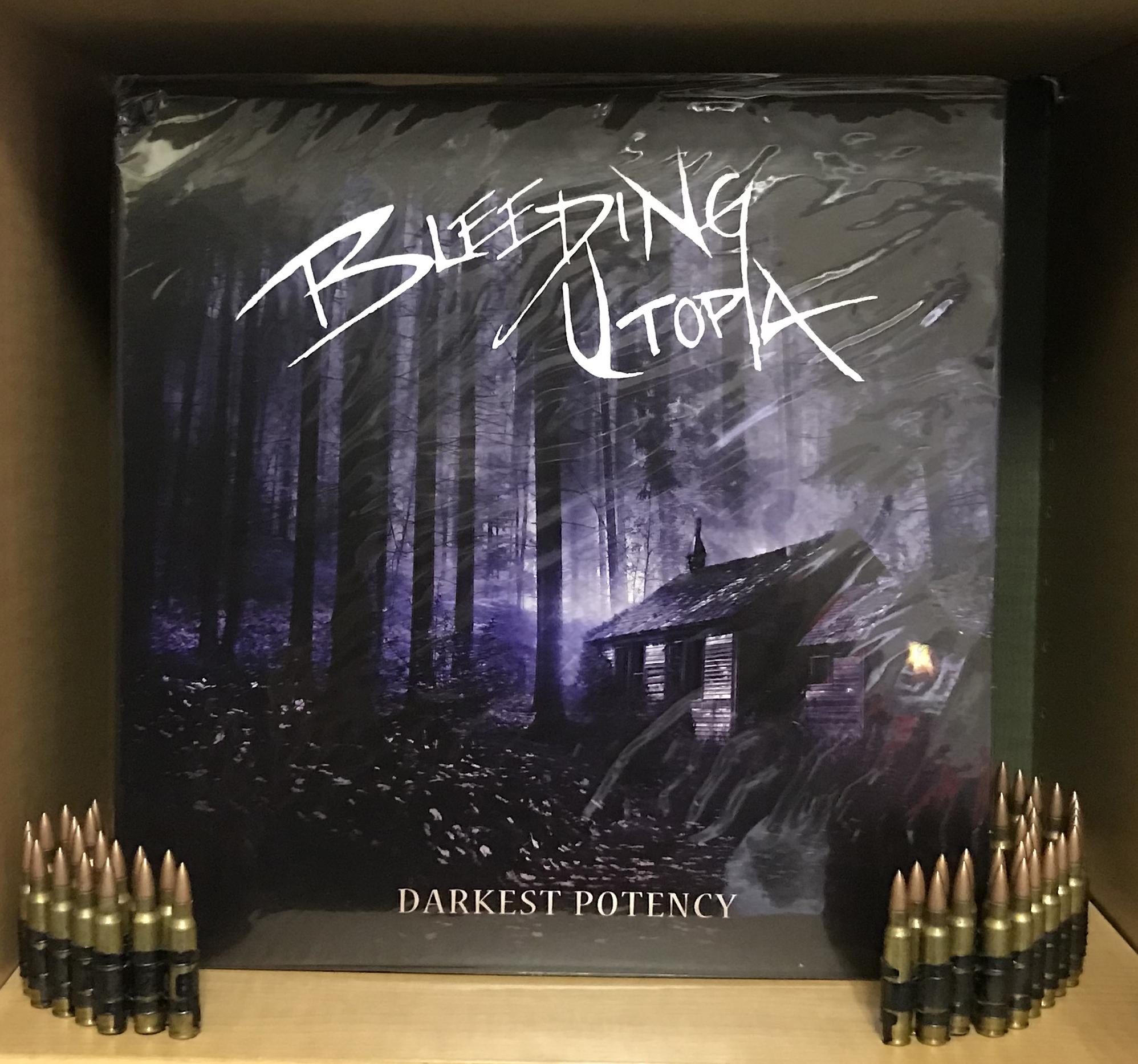"BLEEDING UTOPIA ""Darkest Potency LP"""