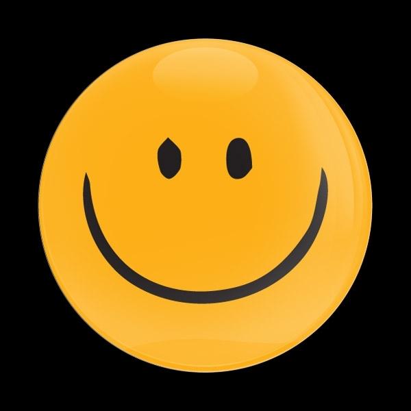 ゴーバッジ(ドーム)(CD1088 - EMOJI SMILE HAND DRAWING 2) - 画像1