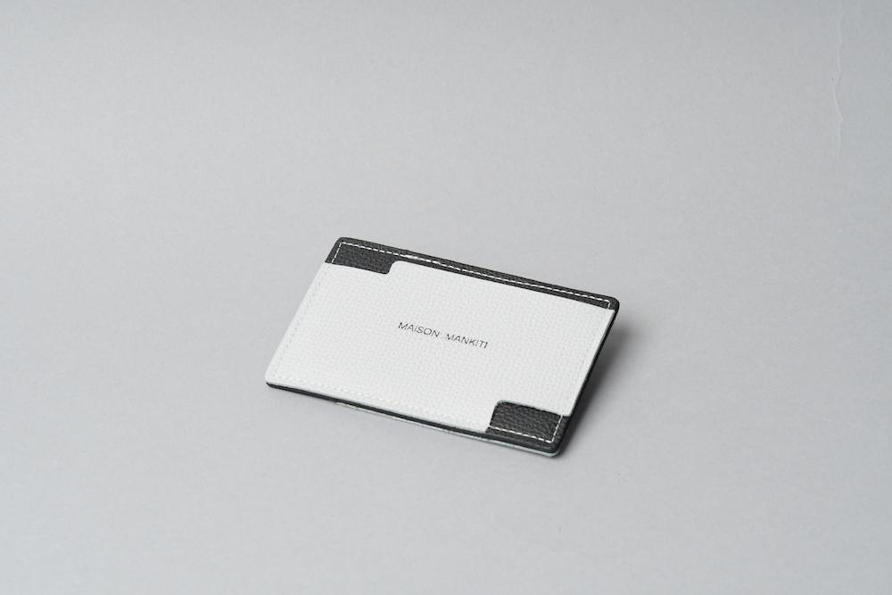 パスケース ◻︎ライトグレー・ブラック◻︎ - 画像1