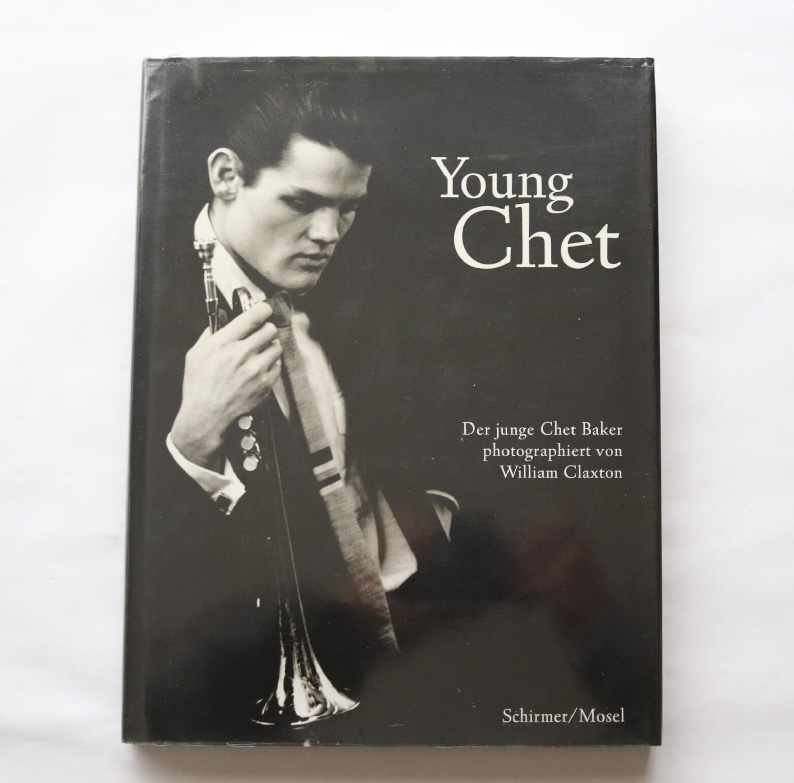 Young Chet / Der junge Chet Baker photographiert von William Claxton