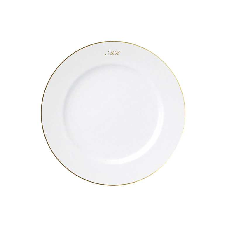 Very Classic & Initial Plate