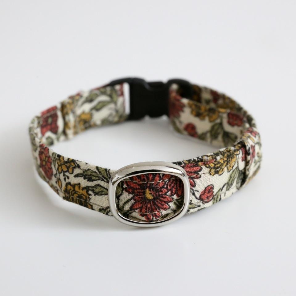 猫の首輪(Flower A)