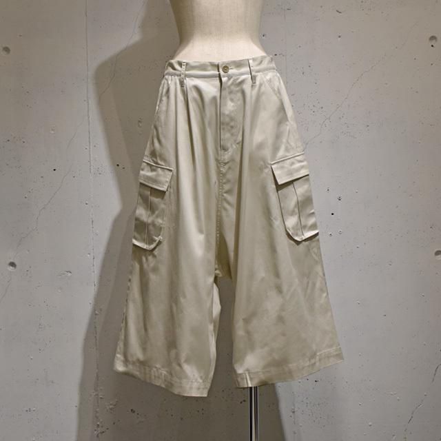 -niitu- / Wide Cargo Pants / Beige