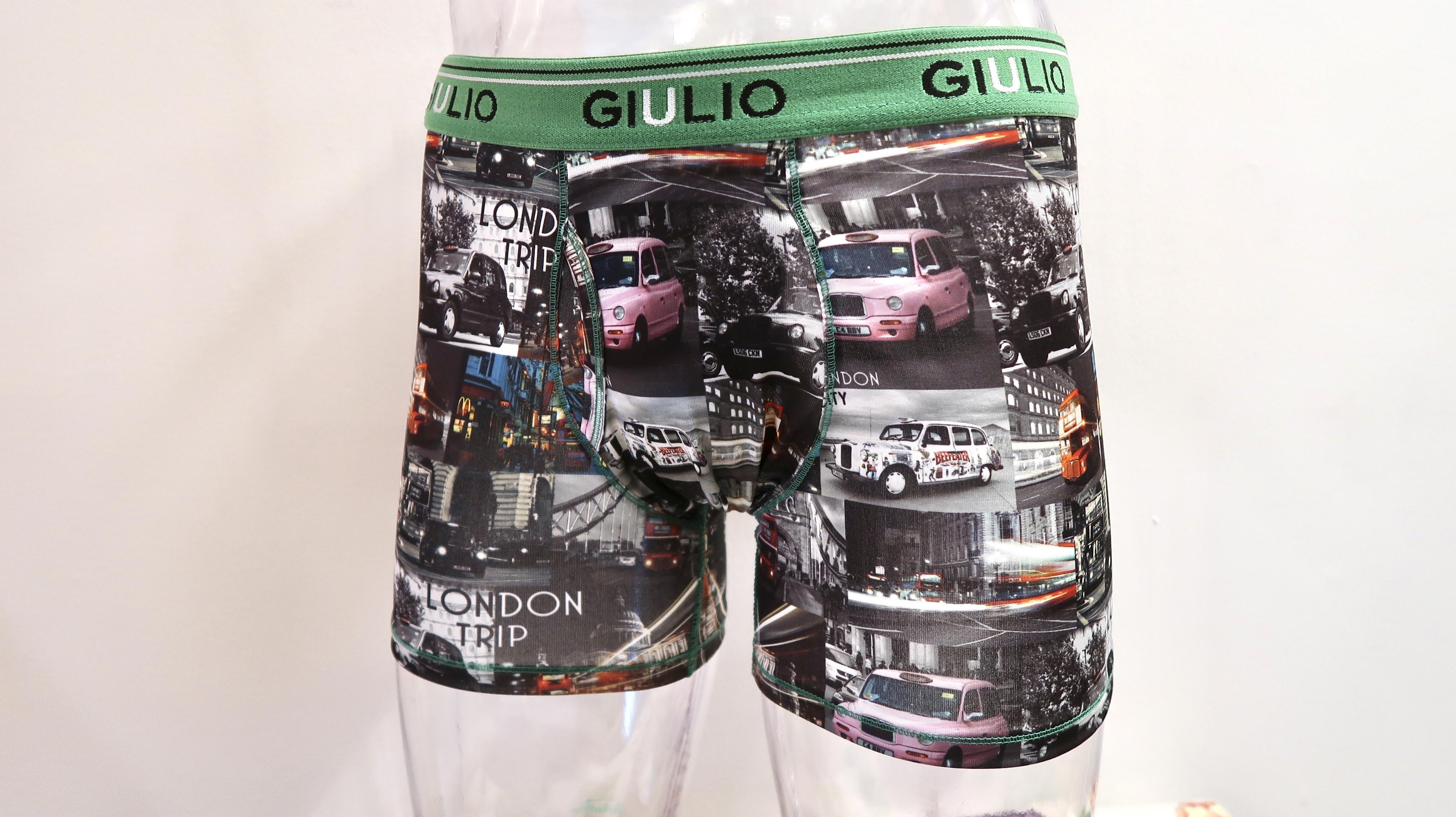 GIULIO<ジュリオ> メンズ 前開きタイプ ボクサーパンツ スペイン、バルセロナの有名下着ブランドのGIULIOです!