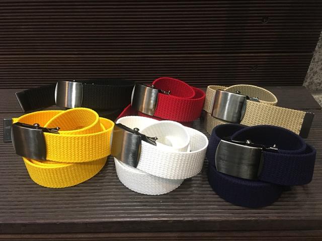 Nobrand Solid Long Belt【re:stock】