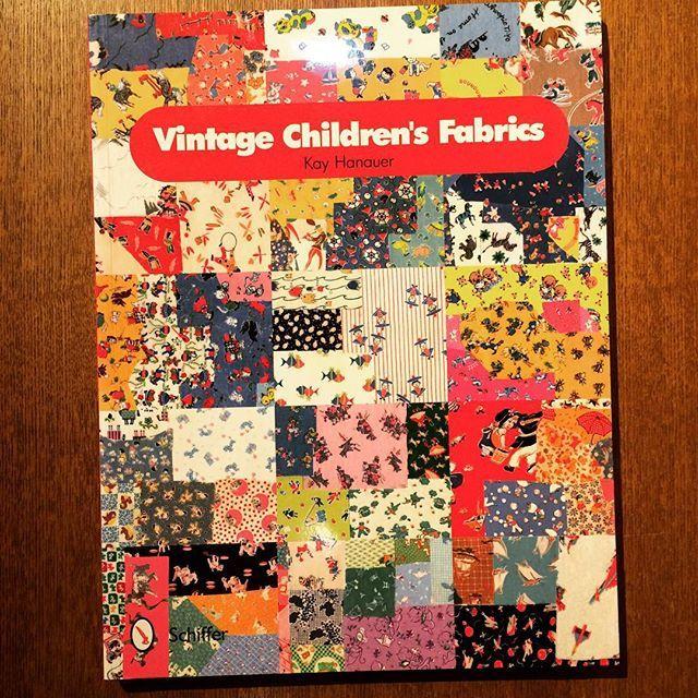 コレクションブック「Vintage Children's Fabrics」 - 画像1