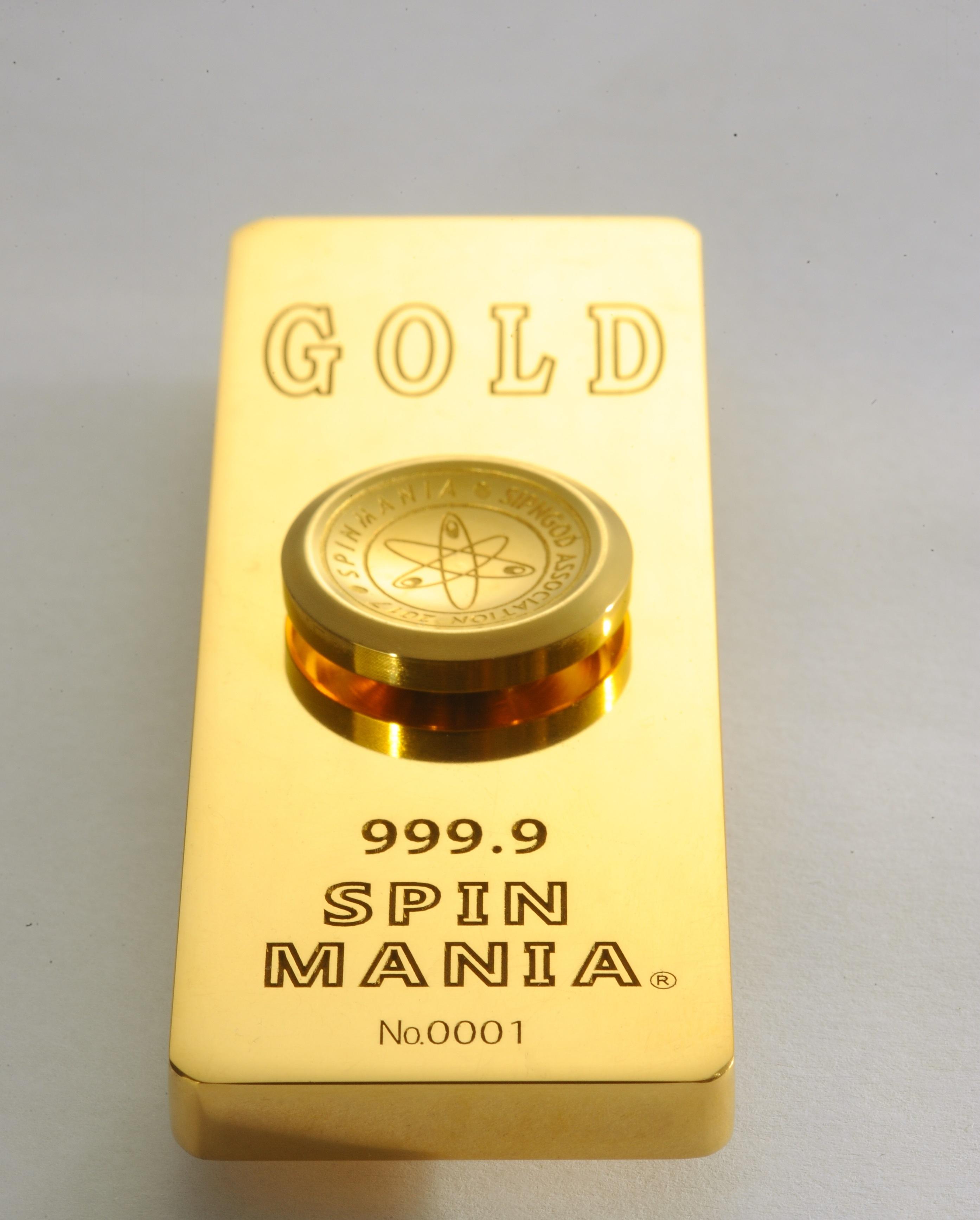 Spin GOD 世界で最も高価な純金...