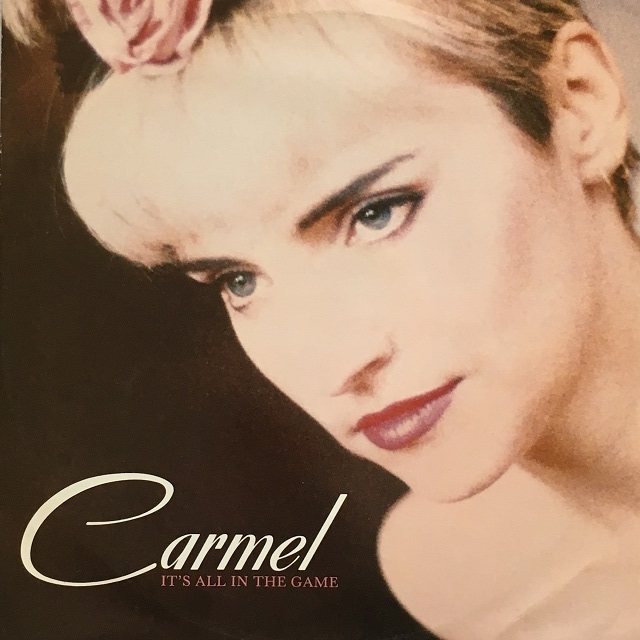 【12inch・英盤】Carmel / It's All In The Game
