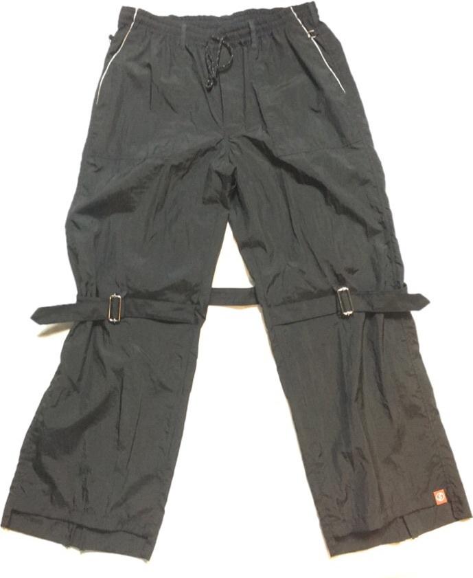 SKIN / nylon bondage pants(blk) - 画像1