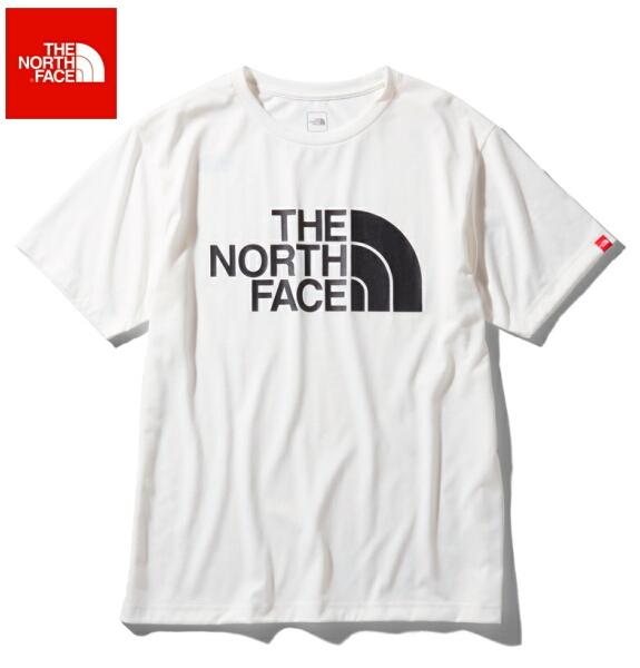 ノースフェイス 半袖 Tシャツ メンズ THE NORTH FACE ショートスリーブカラードームティー NT32034 ホワイト