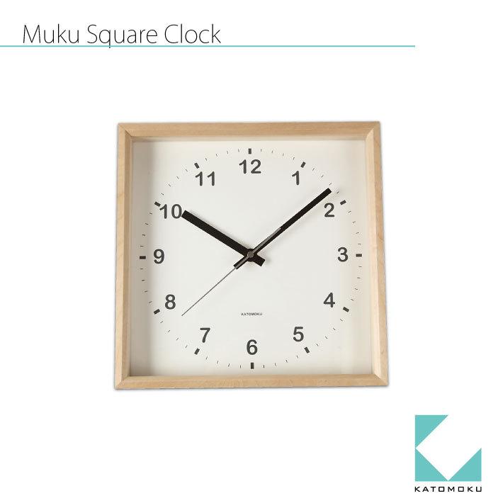 KATOMOKU square clock km-37N