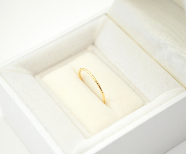 K10 Simple cut Ring