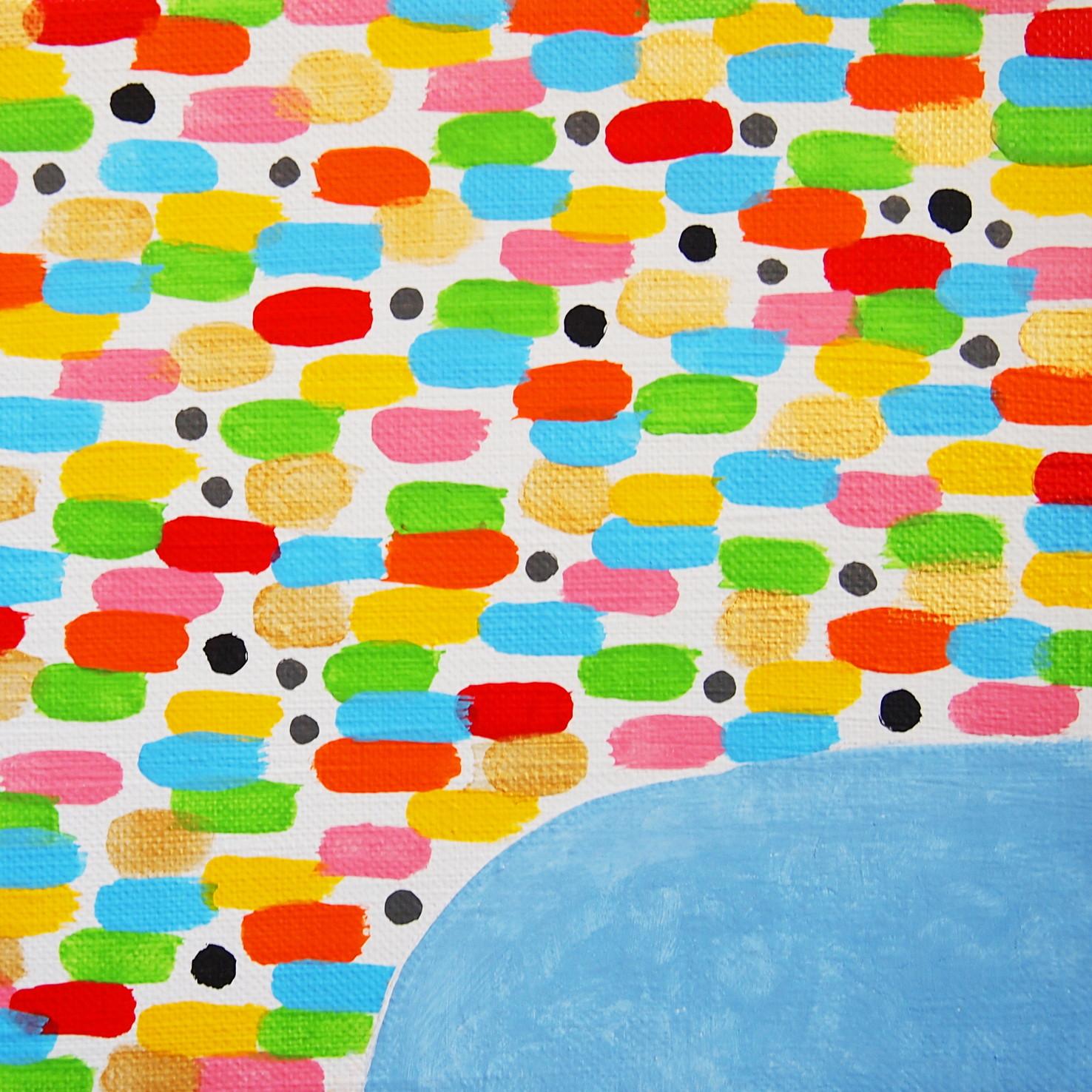 絵画 インテリア アートパネル 雑貨 壁掛け 置物 おしゃれ 現代アート ロココロ 画家 : 眞野丘秋 作品 : 無題